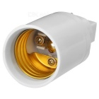 G24 to E27 Light Lamp Adapter - White