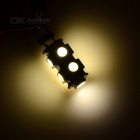 G4 2W Mini LED Light Warm White 90lm 9-SMD - White + Yellow (5PCS)