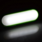 Mini USB 1.2W 6450K 6-LED Lengthen Night Lamp - Green (2PCS / DC 5V)