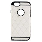 2-in-1 Detachable Protective TPU + PC Back Case for IPHONE 6 - White + Black
