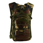 Outdoor Nylon Double-Shoulder Bag Backpack for Cycling, Camping, Travelling - Camouflage