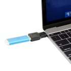 CY U3-208 USB 3.1 Type C to A Female OTG Adapter for MACBOOK - Black