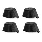 Shock Absorber Rubber Pads for Hubsan X4 H107C Quadcopter - Black