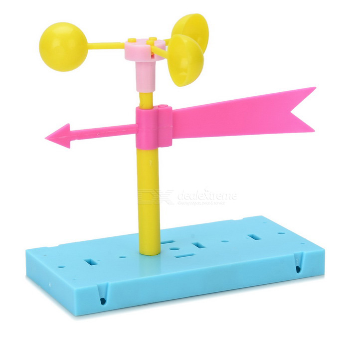 DIY Assembly Cup Wind Vane Anemometer Experiment Kit ...