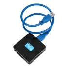 All-in-One USB 3.0 SD / TF / CF / MS / M2 / XD Card Reader - negro