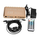 DTS/AC3 5.1CH Audio System Decoder w/ Media Player - Golden + White