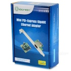 IOCREST mini adaptador pci-express gigabit para Ethernet - verde