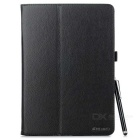 MINI SMILE PU Case w/ Stand, Stylus for Samsung T551 - Black
