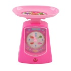 Cute Mini Small Home Electric Toy Balace Scale w/ Indicator - Pink (1 x AA)