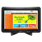 "FineSource 10.1"" IPS LCD HD Monitor Displayer for PC / TV / AV / USB Flash Drive + More - Black"