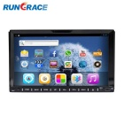 "Rungrace 7"" Android 4.2 TFT Screen 2-Din Car DVD Player w/ BT, GPS, RDS, Wi-Fi, IPOD - Black"