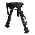 20mm Steel Gun Mount Holder Stand Bipod - Black