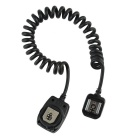 OC-E3 Digital Off Camera Flash Remote Cord Cable for Canon EOS FSLR & Cameras - Black