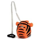Tiger Style Oxford + Polyester Backpack w/ Anti-Lost Cord for Kids - Orange + Black + Multicolor