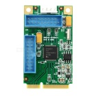 Mini PCI-E to USB 3.0 4-Port Expansion Card - Green + Blue