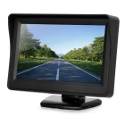 "4.3"" LCD Car Monitor Displayer - Black"