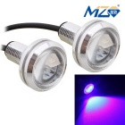 MZ 1.5W 22.5mm 3-SMD 5630 150lm Spot LED Blue Car Daytime Running / Fog / Backup Light (12V / Pair)