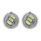MZ 1.5W 22.5mm 3-SMD Spot LED Ice Blue Car Fog / Backup Light (Pair)