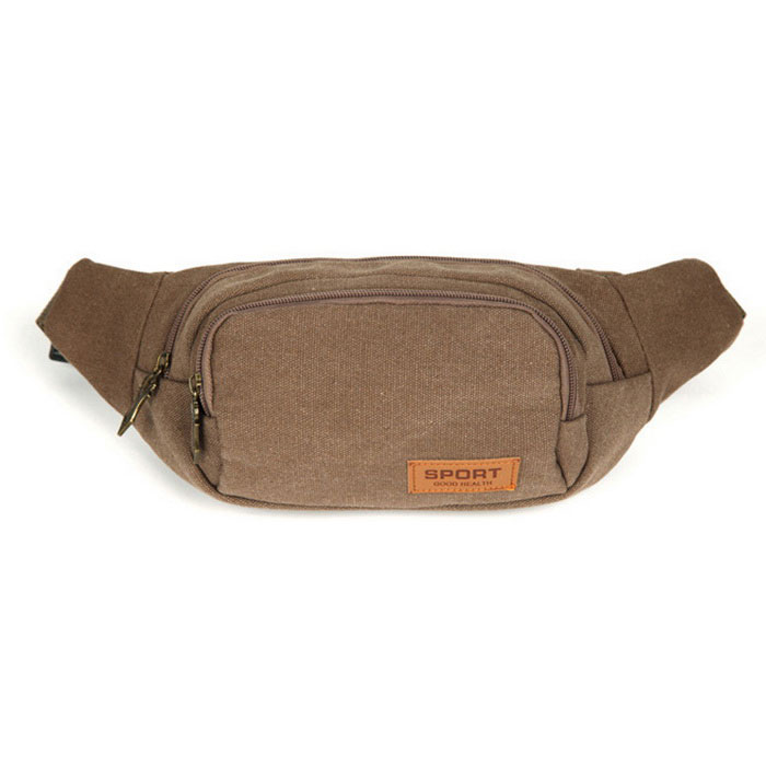 AKR Outdoor Sports Mountaineering Waist Bag - Brown