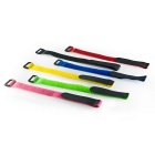 Velcro Cable Wire Ties Hook / Loop Magic Tapes - Multicolor (6PCS)