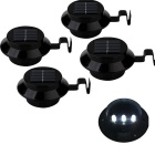 YouOKLight 0.5W 3-LED White Light Mini Waterproof Solar Powered Fence / Garden Lamp (4PCS)