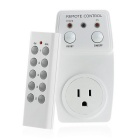 Wireless Remote Control Power Outlet Plug Light Switch Socket One Remote - White (US Plug)