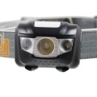 280lm White + Red LED 4-Mode Outdoor Sports Cycling Headlight - Black