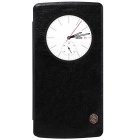 NILLKIN QIN Series Protective PU Leather + PC Case for LG G4 - Black