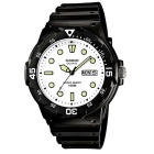 Genuine Casio MRW-200H-7EV Men's Sport Analog Dive Watch - Black