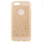 Ultra-Thin Protective TPU Back Cover Case for IPHONE 6 - Golden
