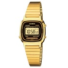 Genuine Casio LA670WGA-1DF Women's Stainless Steel Classic Watch - Gold