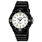 Genuine Casio LRW-200H-7E1VCF Women's Dive Analog Watch - Black