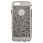 Ultra-Thin Protective TPU Back Cover Case for IPHONE 6 - Dark Grey