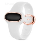 Vipose Birthstone Bluetooth V4.0 Pregnant Security Bracelet w/ Radiation Monitor / Pedometer - White
