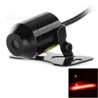 Universal Wired 200mW IPX4 Waterproof Red Laser 650nm Fog Lamp Foglight - Black (8~36V)