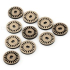 Motor Speed Photoelectric Encoders for Model Car / Robot - Brownish Yellow + Black (10 PCS)