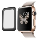 adresse drøm metall kant herdet glass film for APPLE WATCH 38mm - svart