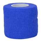 Sports Athletes Non-Woven Fabric Flexible Breathable Adhesive Bandages Roll - Blue (5cm x 4.5m)