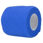 Sports Athletes Fabric Flexible Breathable Bandages Roll - Blue