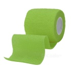 Sports Athletes Fabric Flexible Breathable Bandages Roll - Green
