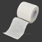 sporters stof flexibel ademende bandages roll - wit