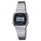 Genuine Casio LA-670WA-1 Women's Classic Watch - Silver