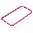 Aluminum Alloy Bumper Frame Case for Samsung Galaxy S6 - Pink