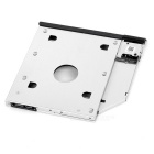 9.5mm SATA 2nd HDD Hard Drive Caddy for Dell E Series - Silver