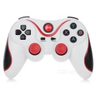 TERIOS T2 Bluetooth v3.0 + HS Controller Handle for Android Phone / Tablet - White + Red