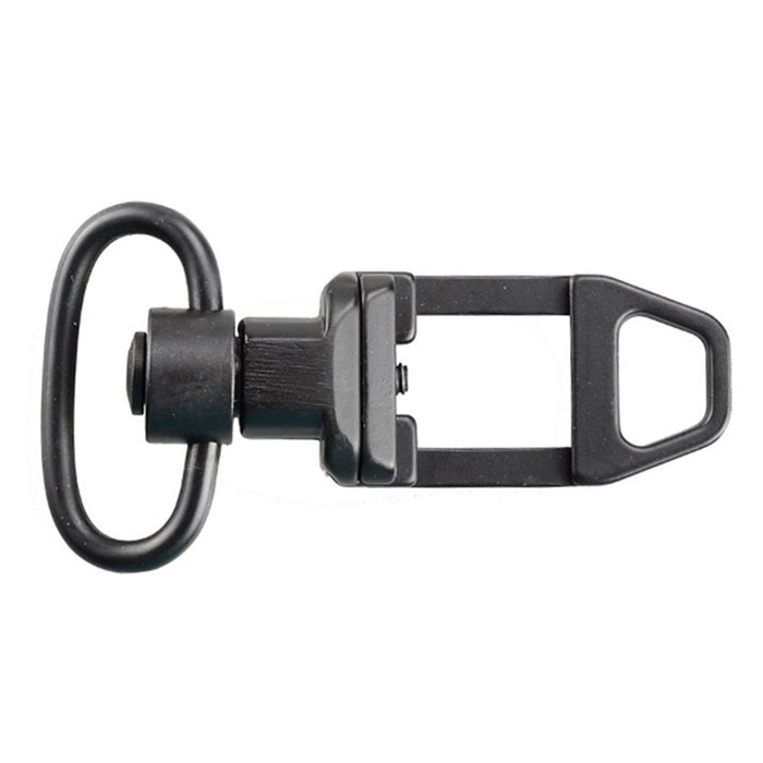 HLBD02 Aluminum Alloy Shape Sling Swivel Mount for M4 M16 - Black