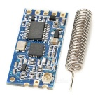 HC-12 SI4463 Wireless MCU Serial Port Module w/ Spring Antenna - Blue