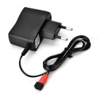 3.7V 500mA EU Plug Power Charger for Udi U818A / WLtoys V959 / V222 / Feiyu FY550 - Black
