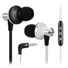 AWEI TE 850Vi 3.5mm In-Ear Earphone w/ Remote, Mic for Samsung - White
