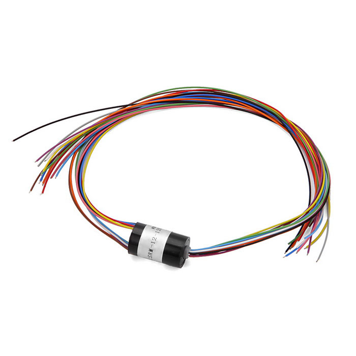12 Wires 1.5A Per Circuit 240V Micro Capsule Slip Ring